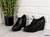 """Туфлі жіночі, чорні """"Sole Z"""", еко шкіра, мокасини жіночі, балетки жіночі, повсякденне взуття, фото 5"""