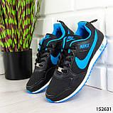 """Кроссовки женские, черные в стиле """"Nike"""", сникерсы женские, мокасины женские, повседневная обувь, фото 2"""