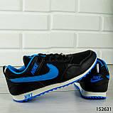 """Кроссовки женские, черные в стиле """"Nike"""", сникерсы женские, мокасины женские, повседневная обувь, фото 3"""