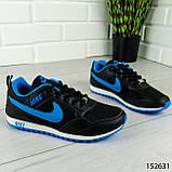 """Кроссовки женские, черные в стиле """"Nike"""", сникерсы женские, мокасины женские, повседневная обувь, фото 6"""