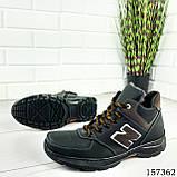 """Ботинки мужские зимние черные """"New B"""" эко кожа, Зимние ботинки. Обувь мужская. Обувь зимняя, фото 5"""