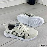 Кросівки дитячі, білі еко шкіра, кеди дитячі, мокасини дитячі, фото 8