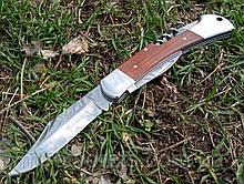 Нож дорожный Мичман, штопор, открывалка, консервный нож 65Х13 +паракорд