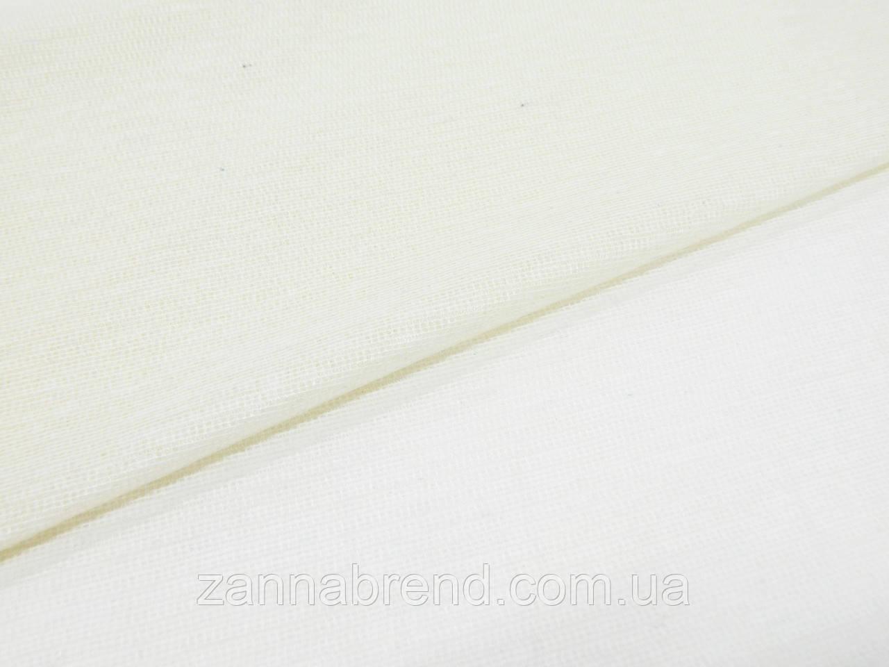 Тканина дублерин колір топленого молока (прокладочний матеріал)