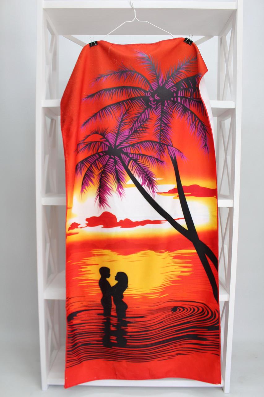Полотенце пляжное махровое 711008