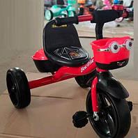 """Велосипед 3-х колісний 97282 """"Best Тгіке"""" (1) піно колесо EVA зі світлом і звуком, дзвіночок, 2 корзини"""