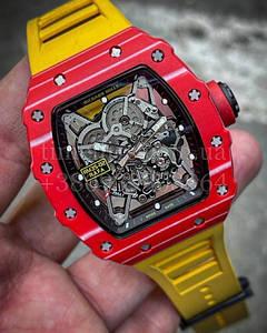 Мужские наручные часы Ричард Миль (реплика) RM 035-02 Рафаэль Недал Суперклон
