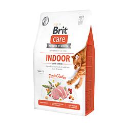 Корм Brit Care Cat GF Indoor Anti-stress для котів, які постійно перебувають у приміщенні 400 г
