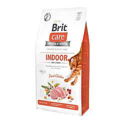 Корм Brit Care Cat GF Indoor Anti-stress для котів, які постійно перебувають у приміщенні 7 кг