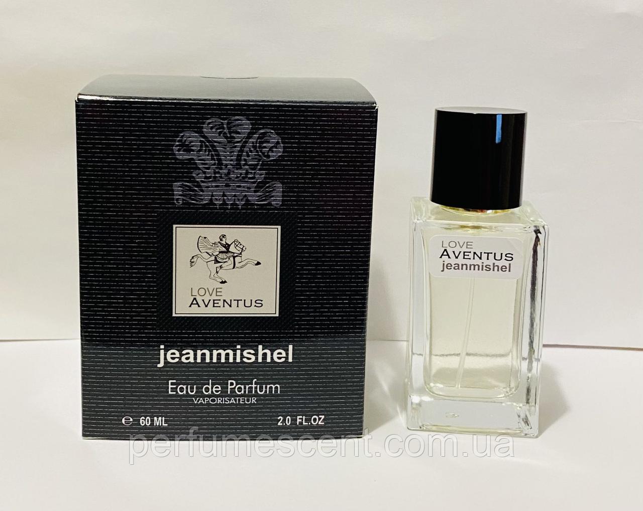 60 мл Мини-парфюм JEANMISHEL LOVE  AVENTUS  (м) 115 кубик