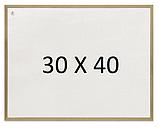 Магнитно-маркерная доска в деревянной раме 2х3. Все размеры. Белая доска для рисования маркером, фото 2