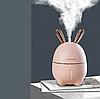 Міні Зволожувач-нічник Rabbit, Рожевий