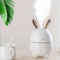 Міні Зволожувач-нічник Rabbit, Білий, фото 1