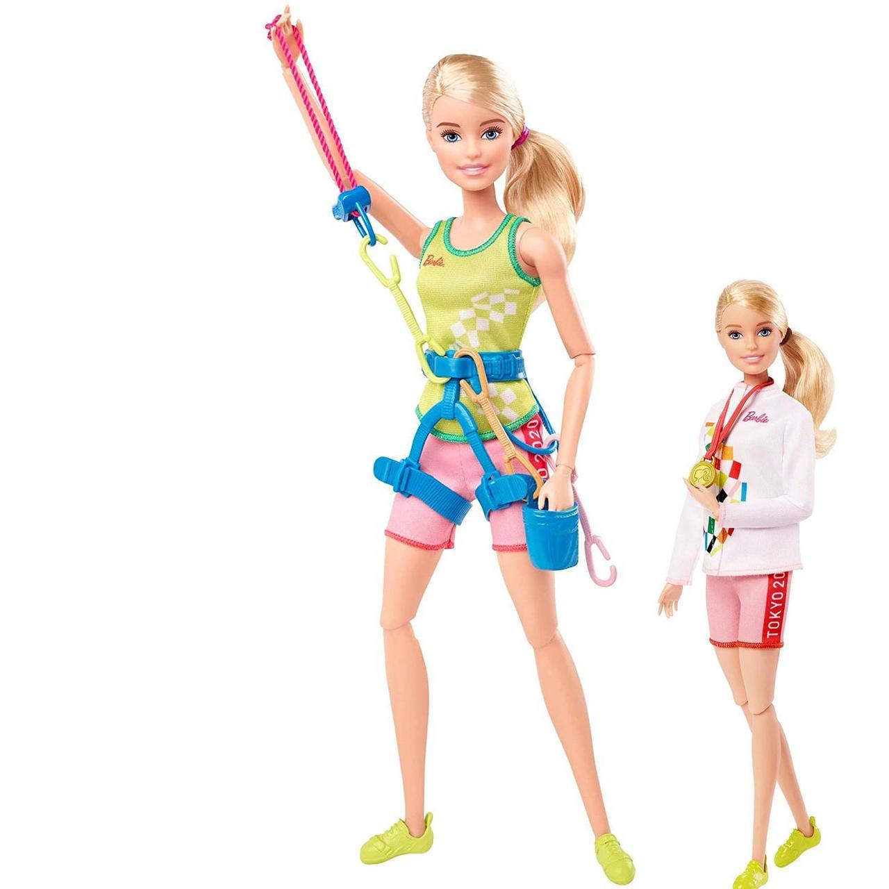 Лялька Барбі Спортивне скелелазіння Олімпійські ігри Токіо Barbie Olympic