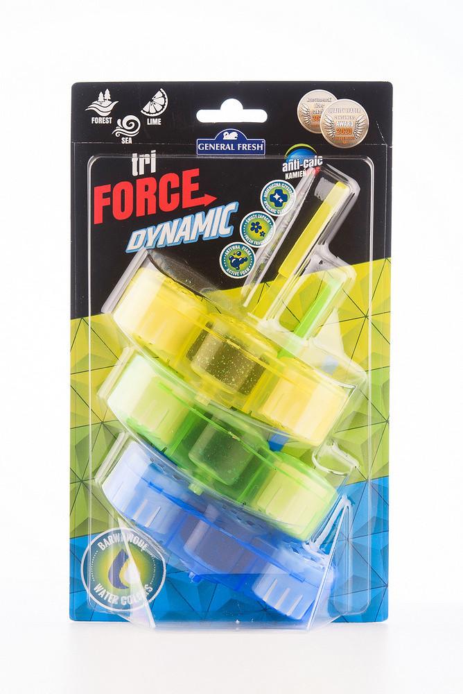 Force Dynamic Освіжувач для унітазів MIX (Forest, Lime, Sea)