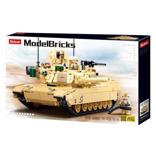 Конструктор SLUBAN M38-B0892 Танк Абрамс