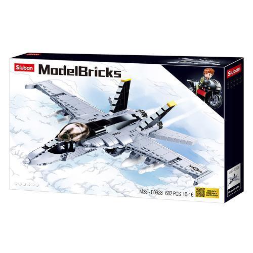 Конструктор SLUBAN M38-B0928 Винищувач F-18 Хорнет