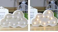 Светильник для детской Облако белый 30 см