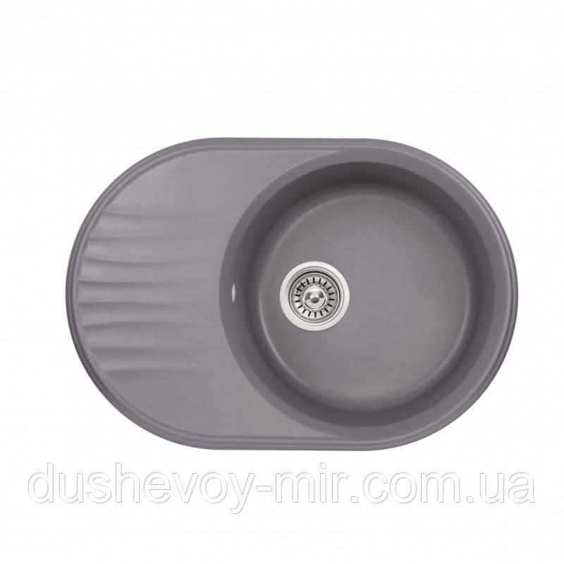 Кухонна мийка Qtap CS 7451 GRE (QT7451GRE471)