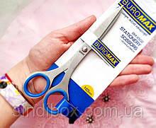 Ножиці офісні 16.5 см (лезо 6,5 см) суцільнометалеві (сп7нг-6366)