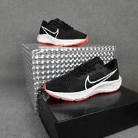 Мужские кроссовки в стиле Nike Air Zoom Pegasus чёрные с белым