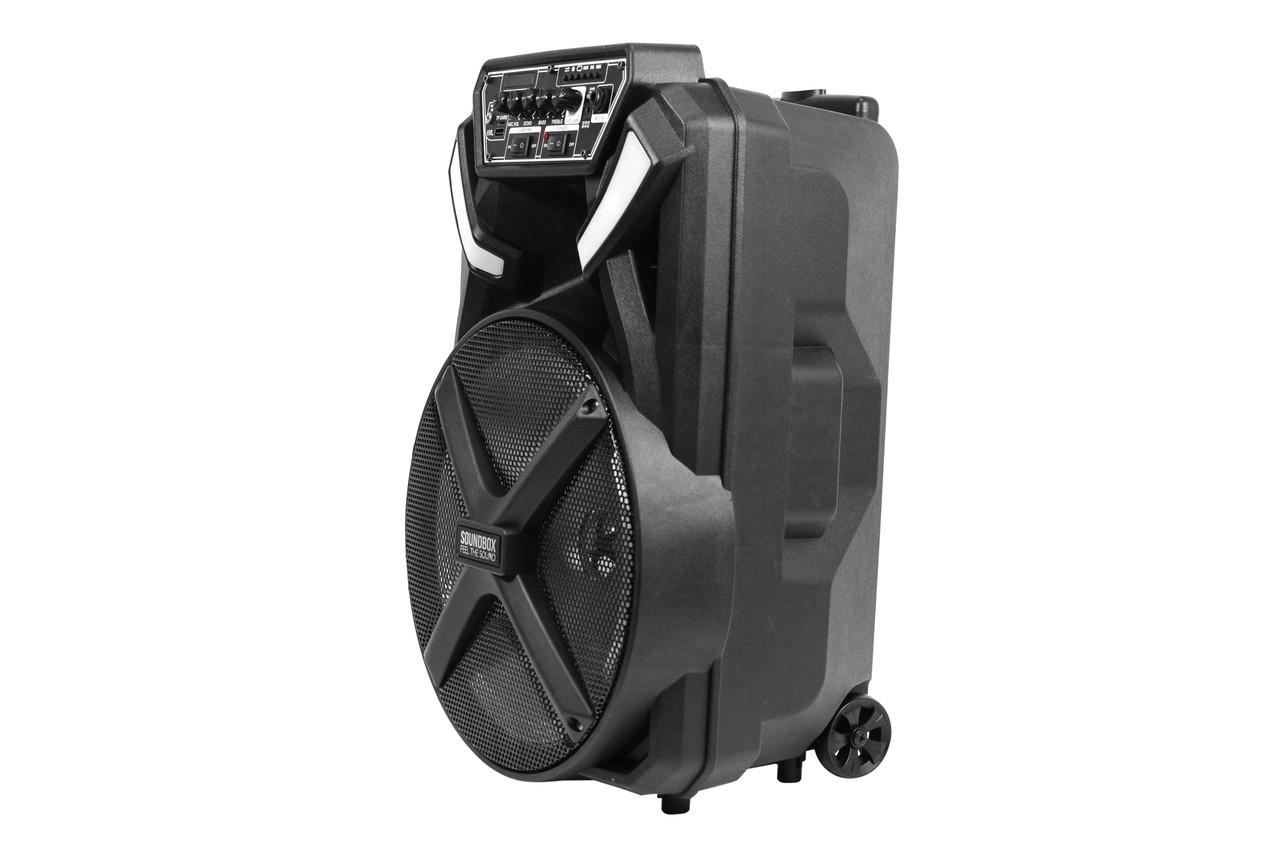 Bluetooth колонка-валіза акумуляторна 150W SOUNDBOX SB-4500