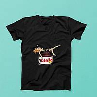 Футболка женская с принтом Nutella