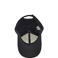 Бейсболка кепка котон чорна, фото 4