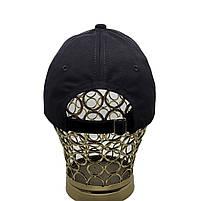 Бейсболка кепка котон чорна, фото 3