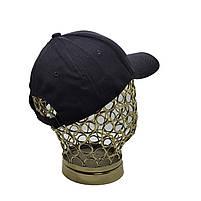 Бейсболка кепка котон чорна, фото 2