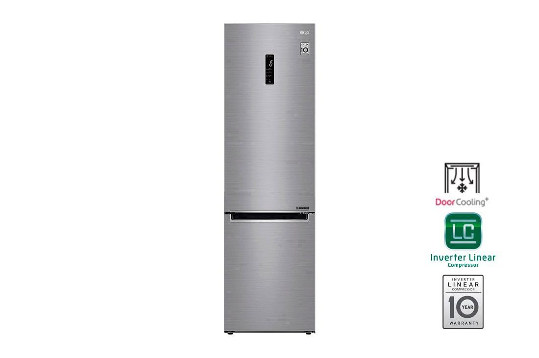 Холодильник з нижньою морозилкою LG GA-B509MMQZ