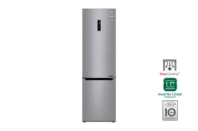 Холодильник з нижньою морозилкою LG GA-B509MMQZ, фото 2