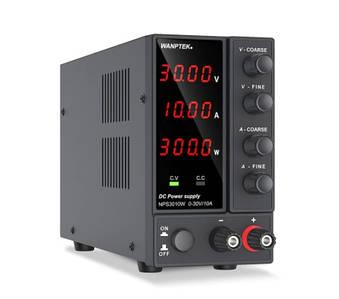 Блок живлення лабораторний Wanptek NPS3010W 30V 10A (компактний)