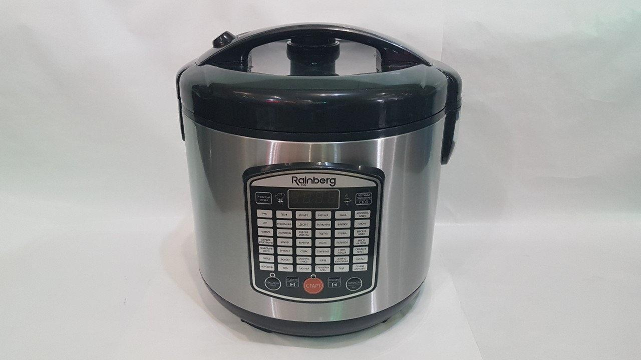 Мультиварка Rainberg RB-6208 6 л 42 програми 1000 W+книга рецептів