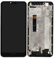 Дисплей DOOGEE Y7 Plus + Touchscreen with frame Black