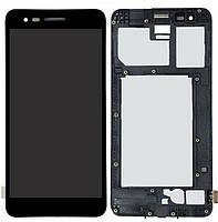 Дисплей LG K4 X230 2017, K7 X230 2017 + Touchscreen with frame Black