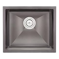 Кухонна мийка Qtap D4843BL Black 2.7/1.0 мм (QTD4843BLPVD2710)