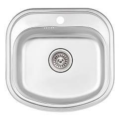 Кухонна мийка Qtap 4947 Satin 0,8 мм (QT4947SAT08)