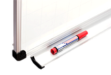 Магнитно-маркерная доска в алюминиевой раме ABC Все размеры. Белая доска для рисования маркером, фото 3