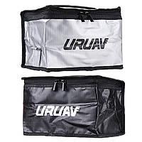 Безопасная сумка для аккумулятора Lipo, батареи. 21X16X14cm URUAV UR21