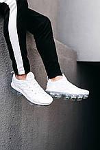 🔥 Кроссовки мужские Nike Vapor Max Plus Tn белые летние легкие найк вапор макс плюс низкие