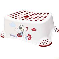 Стульчик-подставка детская  Minnie Prima Baby белая 8445