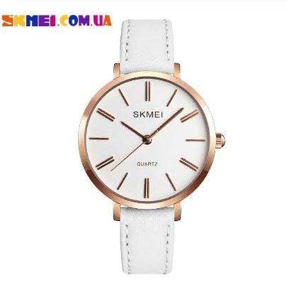 Класичний наручний годинник Skmei 1397 (White)