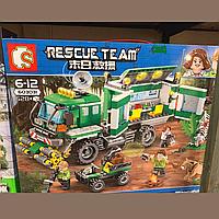 Конструктор лего машина, джунгли 528 деталей Lego