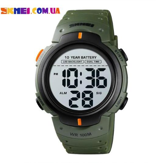 Чоловічий годинник Skmei 1560 Sport (Army Green)