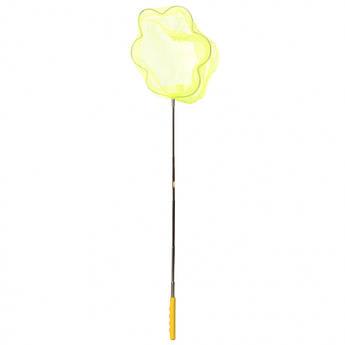 """Детский сачок для бабочек """"Цветок"""" MS 1287-2  ручка-телескоп 87 см (Желтый)"""