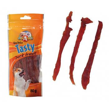 Лакомство для собак сушеное утиное филе Croci Tasty 80 г