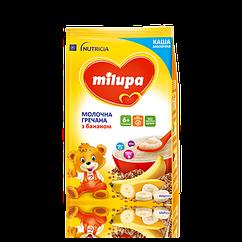 Каша молочна Milupa Гречана з бананом, 6+, 210г