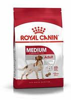 Сухий корм Royal Canin Medium Adult (Роял Канін Медіум Эдалт) 15 кг для дорослих середніх 11-25 кг собак