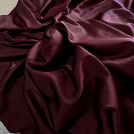 Ткань шелк-армани бордовый, фото 2